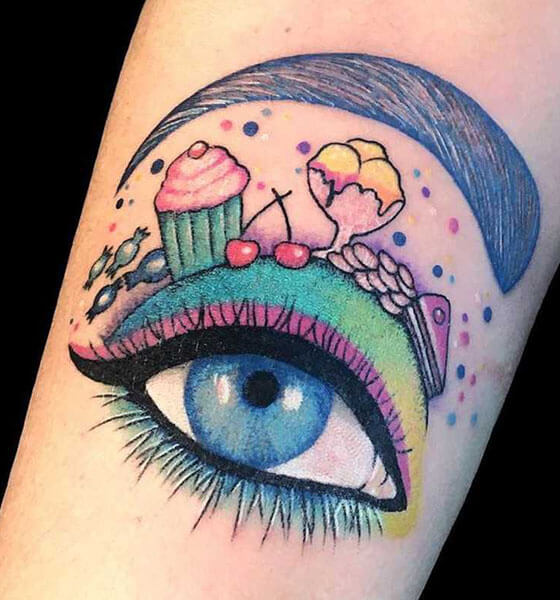Beautiful Eye Tattoo ideas for Women