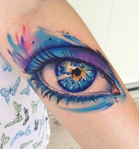 Beautiful Eye Tattoo