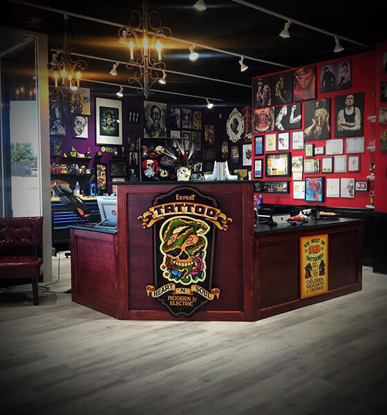 Chicago's Heart-N-Soul Tattoo Shop