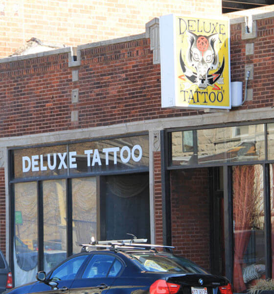 Deluxe tattoo is one of the best tattoo studio in Chicago