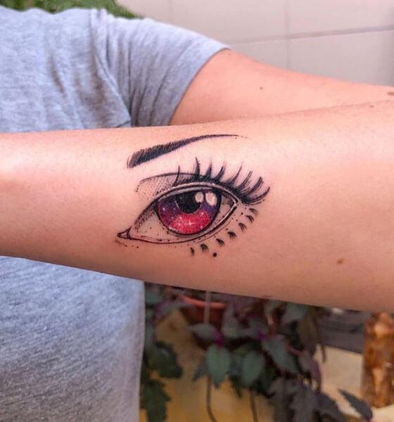 Eye Tattoo on Arm