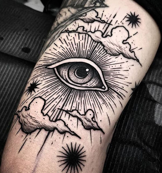 Eye of Providence Tattoo Design