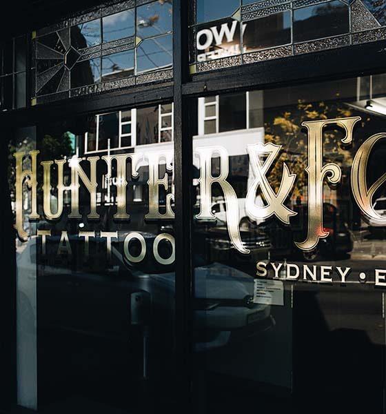 Hunter and Fox Tattoo Studio - Best Tattoo Shop in Sydney