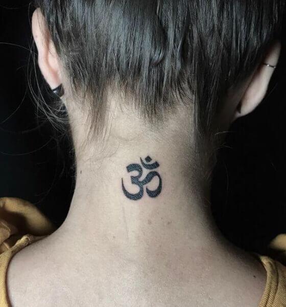 Om Tattoo Idea - Sanskrit Tattoo Word