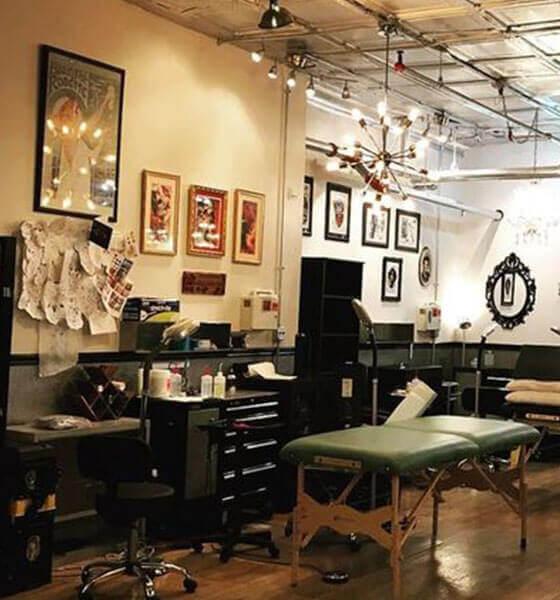 Speakeasy Custom Tattoo Shop in Chicago