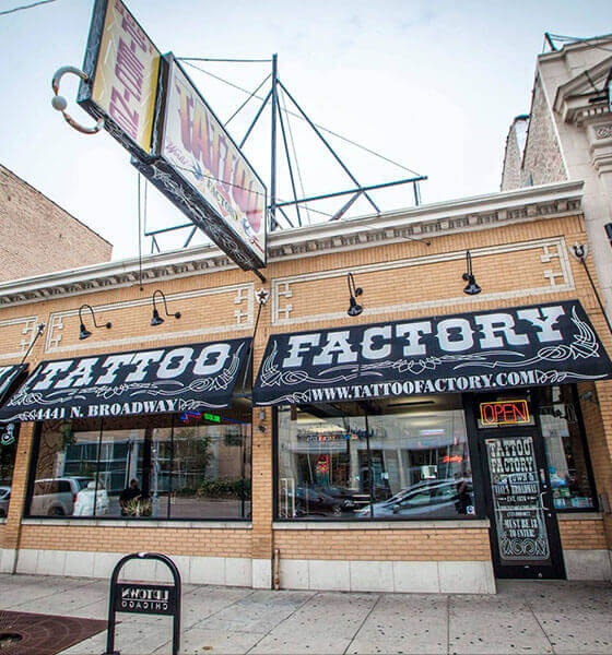 Tattoo Factory - Best Tattoo Shop in Chicago