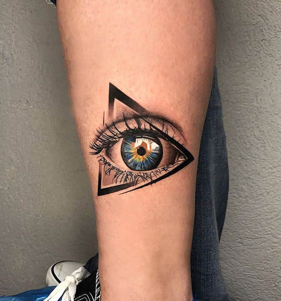 Third Eye Tattoo Idea