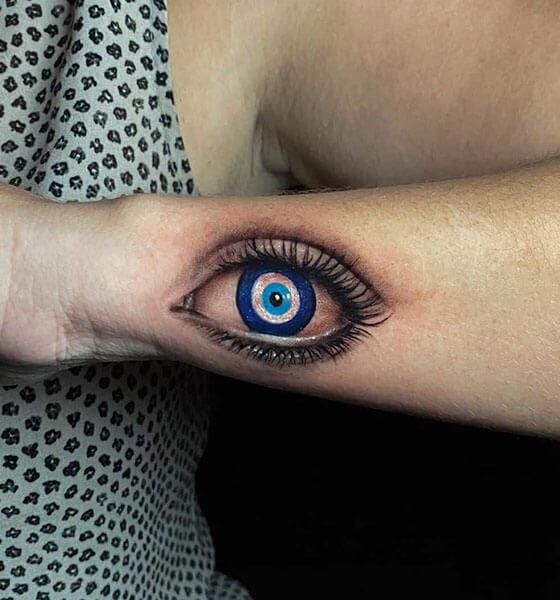 Third Eye Tattoo Design
